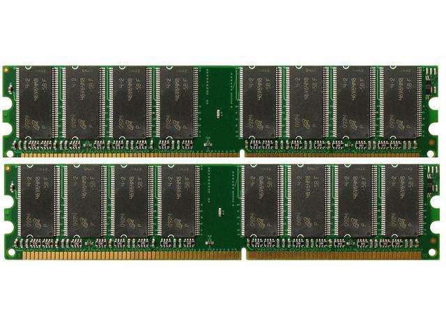 2GB PC2700 Samsung Memory Kit 333MHz 184-Pin Desktop RAM DIMMs 2 x 1GB