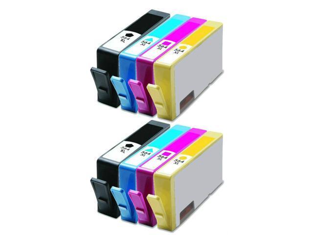 Refurbished: 8PK #564XL Ink Cartridges for HP Deskjet 3070a 3520 3521 3522  3526 - Newegg com
