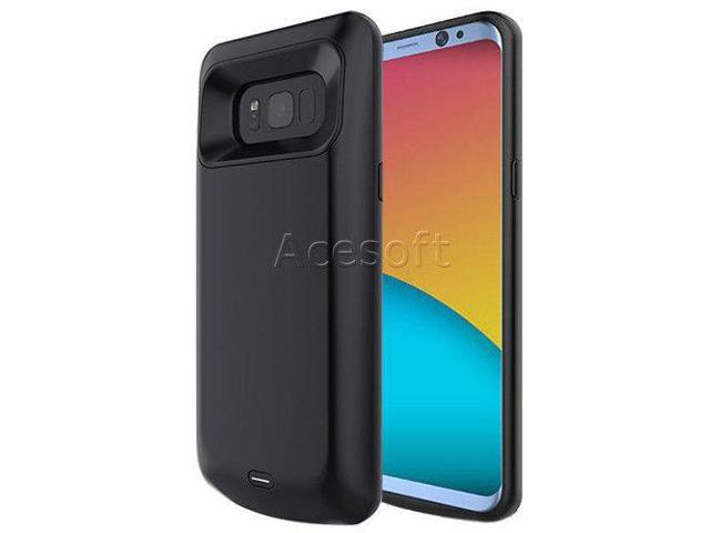Standard 5000mAh Backup Battery Cover Case for Unlocked Samsung Galaxy S8  G950U - Newegg com
