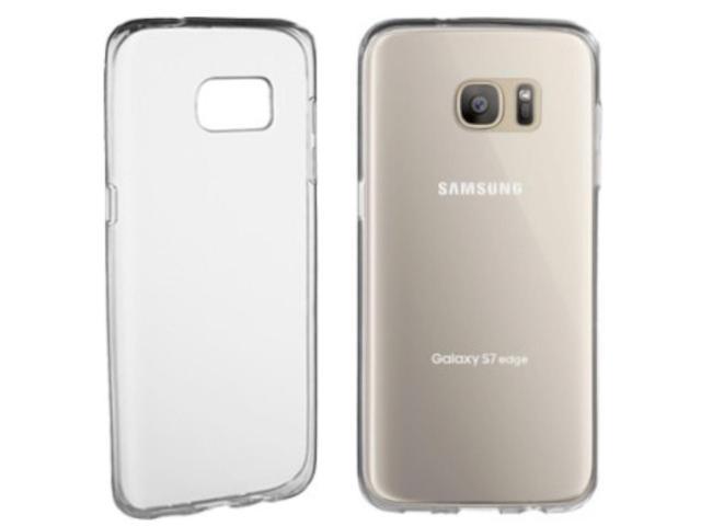 NEW Insignia Samsung Galaxy S7 Edge CLEAR Cell Phone Case Soft NS-MSGS7EPTC  Grip - Newegg com