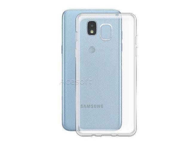 Clear Skin Shell Flexible Soft Protective Case f Samsung Galaxy J3 Orbit  S367VL - Newegg com