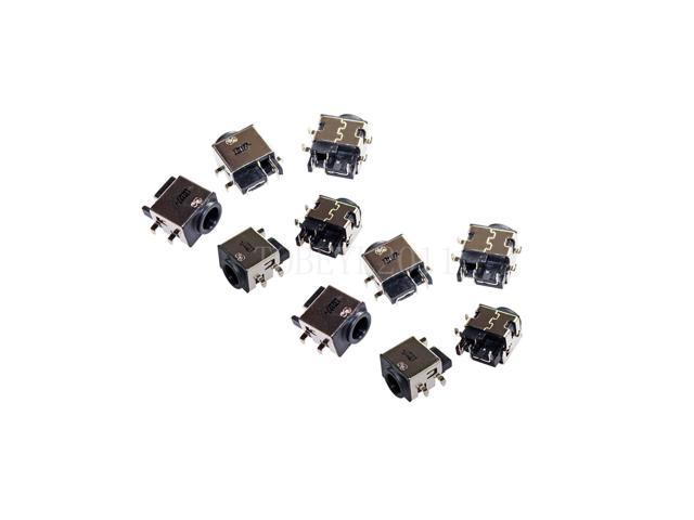 lot of 10 dc in power jack socket port for samsung np-qx411 qx411 np-qx411-w01us