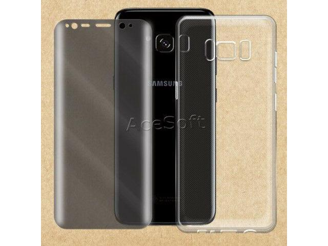 reputable site 4e6c4 f207f 2in1 Soft Case 9H+ Privacy Screen Protector for T-Mobile Samsung Galaxy S8  G950U - Newegg.com