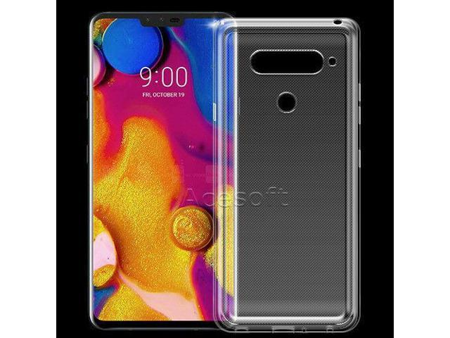Dustproof Durable Transparent Silicone Case Cover for AT&T LG V40 ThinQ  LMV405UA - Newegg com