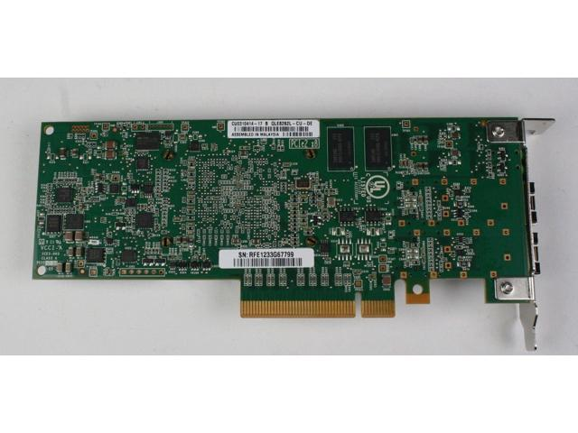 Dell QLogic QLE8262L dual port 10Gbps PCIe converged network adapter PW4FJ