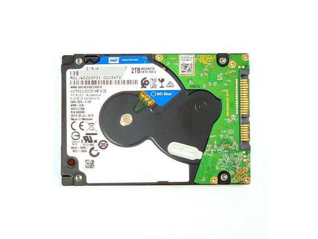 Refurbished: WD Blue WD20SPZX 2TB Hard Drive - SATA 2 5