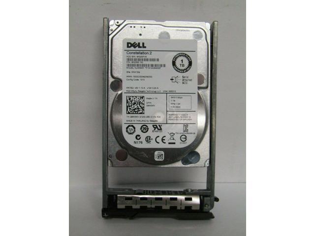 "Dell ST91000640SS //// 9W5WV 1TB 7.2K 2.5/"" SAS HDD w// Tray"