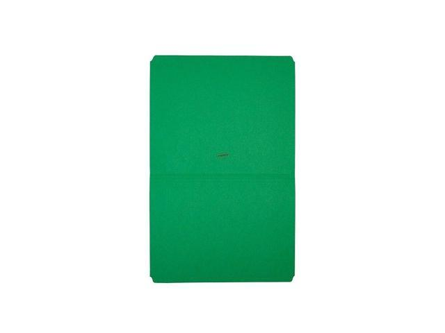 Staples Top-Tab File Folders Straight-Cut Tab Letter Size Green 100//BX 509653