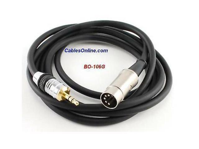 6ft iPod//MP3//PC to BO BO-106G Quad Audio Cable Naim