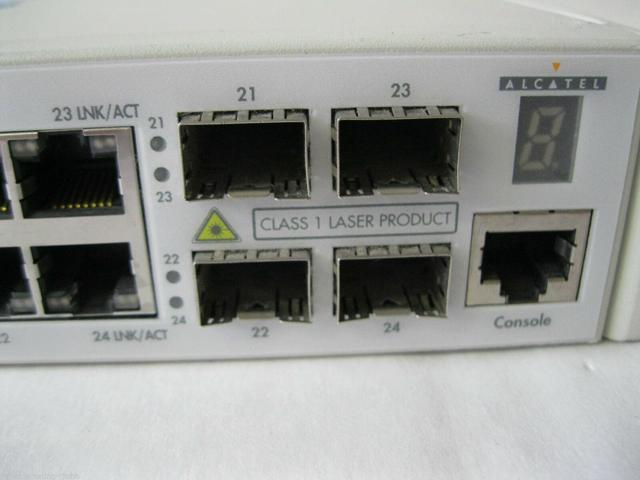 Combo Ports Switch Alcatel OS6800-24 OmniSwitch 6800 24 port 10//100//1000 BaseT