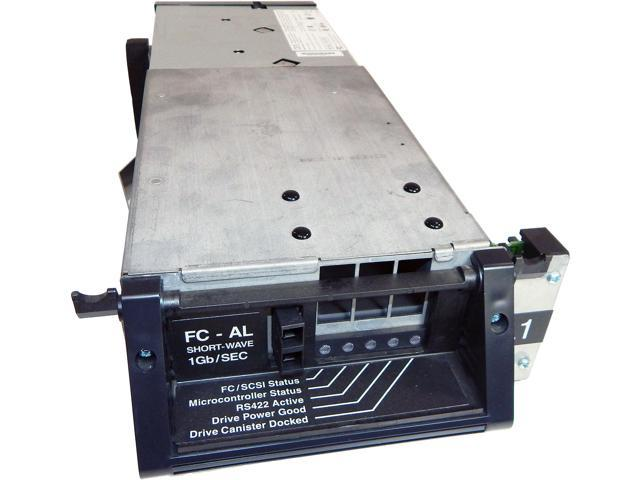 Refurbished: IBM 3584 LTO-1 FC-AL Short Wave FC Tape Drive 19P2625  3584-1456-DRIVE - Newegg com