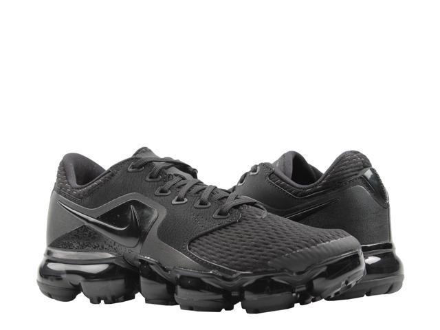 online store 596ae 573a3 Nike Air Vapormax (GS) Triple Black/Dark Grey Big Kids Running Shoes  917963-002 Size 4 - Newegg.com