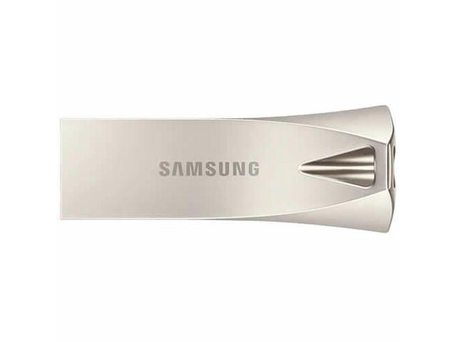 Samsung 32GB USB 3.1 Flash Drive Samsung Bar Plus Silver Metal Casing MUF-32BE3/EU