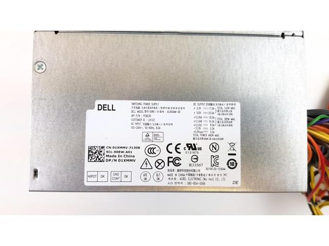 Power Supply Dell XPS 8300 8500 8700 8900 460W AC460AM-00 1XMMV 01XMMV
