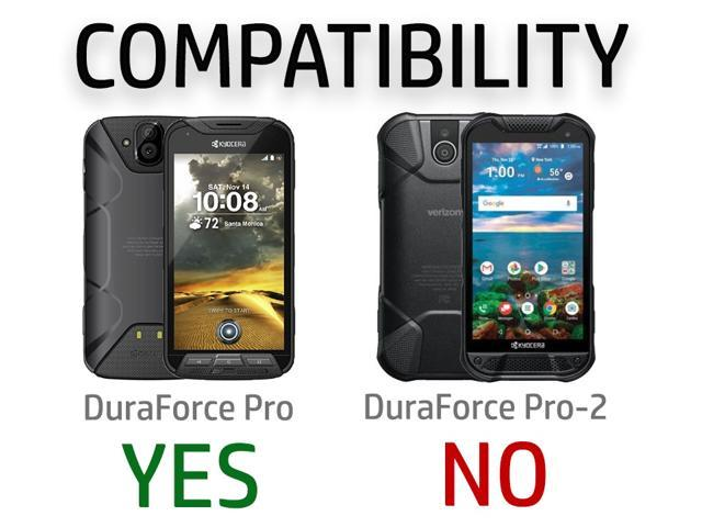 new concept b10d8 53f89 BLACK KICKSTAND SLIM CASE HARD COVER FOR KYOCERA DURAFORCE PRO  E6810/E6820/E6830 - Newegg.com