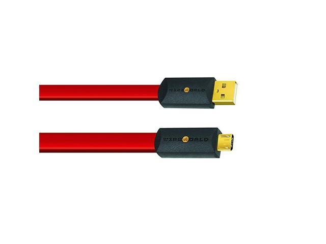 3.0-Meters A to B WIREWORLD Ultraviolet 8 USB 2.0 Audio Cables