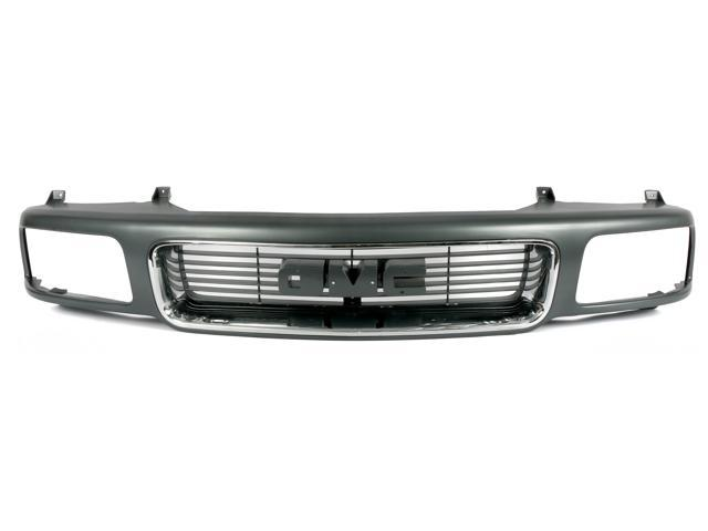 1997-00 NEW Toyota Tacoma Single Front Bumper Grille Grey Base Model T01200204