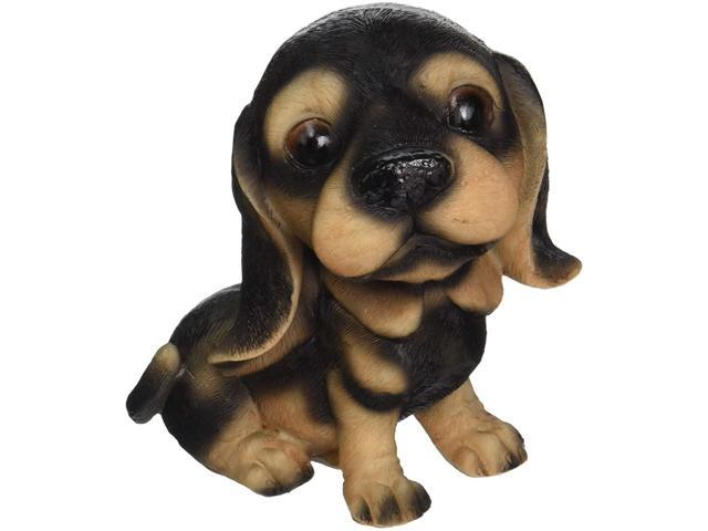 Design Toscano Prized Pup: Rottweiler Puppy Dog Statue