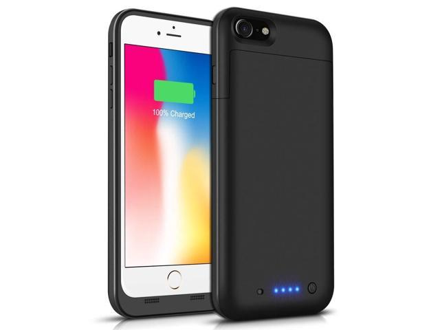 new concept 15e1a 59a3a Battery Case for iPhone 6s Plus/6 Plus, Conqto 6800mAh Portable Protective  Power Charging Case Compatible with iPhone 6 Plus/6s Plus (5.5 inch) ...