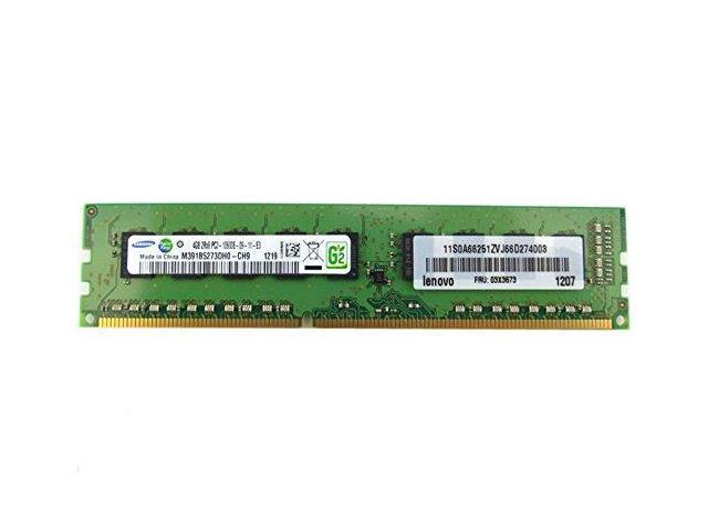 SAMSUNG Samsung DDR3-1600 8GB1Gx72 ECC CL11 Server Memory M391B1G73QH0-YK0 //