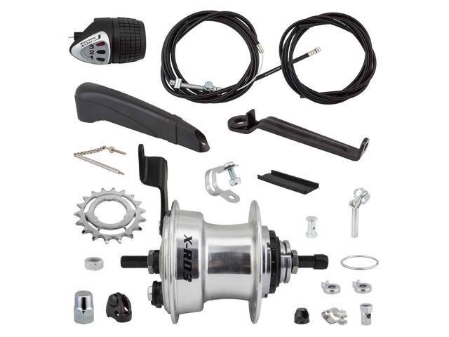 Sturmey Archer RXL-RD3 3 Speed Internal Geared Rear Bicycle Drum Brake Hub 36H