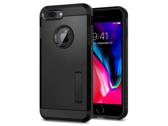 purchase cheap 26e84 55ceb Spigen Tough Armor [2nd Generation] iPhone 8 Plus Case/iPhone 7 Plus Case  with Kickstand Air Cushion Technology for Apple iPhone 8 Plus (2017) / ...