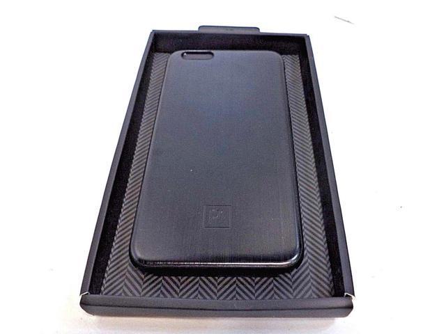 super popular 87d0d 1b001 Refurbished: Platinum PT-MA65SMB Brushed Metal Protection Case for iPhone 6  & 6s Plus Black - Newegg.com