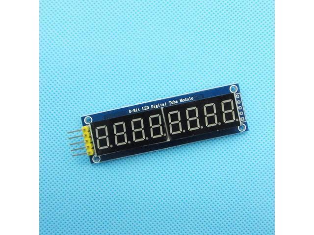"""8-Bit 0.36/"""" Common Anode DEL Display Board Serial Digital Tube Module"""