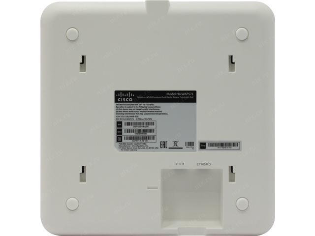 Cisco WAP571-R-K9 Wireless-AC//N 5GHz Wi-Fi Premium Dual Radio Access Point PoE