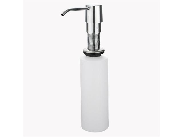 Xuuqin 300ml Hand Liquid Soap Dispensers Bathroom Kitchen Liquid Soap  Dispensers Plastic Bottle Sink Replacement