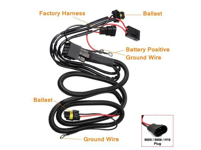 Hid Wiring Harness hid relay harness diagram hid ballast ... on