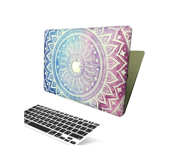 low priced 0b523 7548d Macbook Air 13 Inch Case, [The Sunflower Design] Soundmae Frosted Plastic  Hard Shell Skin Smooth Touch Case & Keyboard Cover for MacBook Air 13.3 ...