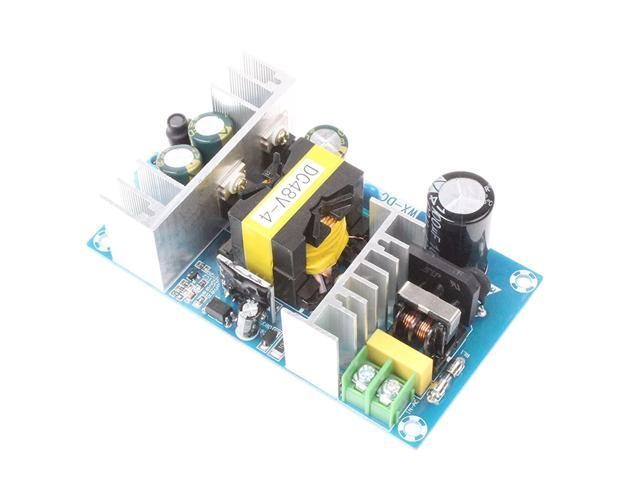 NOYITO AC-DC 48V 4A Isolated Power Supply Module AC 110V 100-240V to 24V  4A/Peak 5A 240W Max Power With Overcurrent Overload Short-circuit  Protection