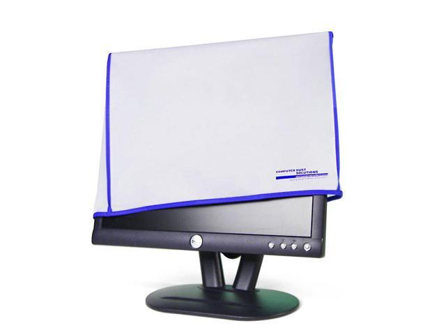 flat panel and plasma displays and screens- for 27-28 LCD monitor Computer Dust Solutions monitor cover for LCD LED 28W x18H x4D