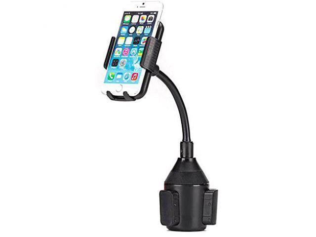 Premium Car Cup Holder Phone Mount Rotating Dock Gooseneck for Motorola  Droid Turbo 2, Moto Z Droid, Force - Samsung Galaxy J3, J5, J7, Note 3 4 5,