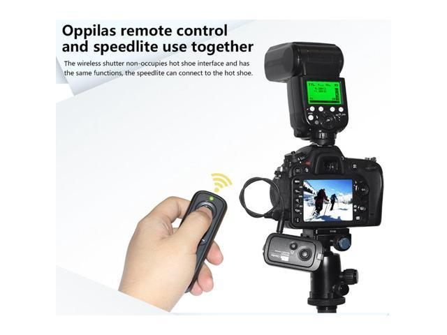 Replaces Canon RS-60E3 Samsung Pentax Sigma and Hassleblad Cameras Contax Pixel 2.4GHz Digital Wireless Remote Shutter Release E3 for Canon