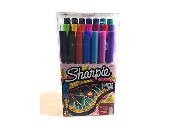 Sharpie Fine Point Permanent Markers Limited Edition 21 Count Pack by Sharpie