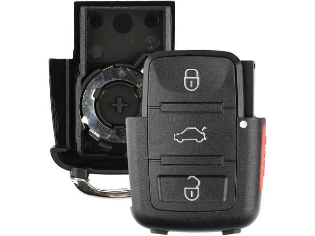 KeylessOption Keyless Remote Smart Car Key Fob Case Shell Outer Cover Button Pad Housing For HYQ14AAF
