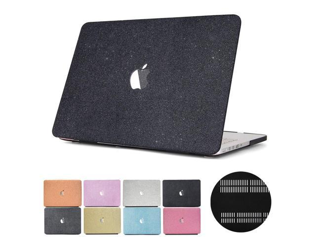 check out e732b 5be6e PapyHall MacBook Case Glitter Rubberized Coated Ultra-Slim Light Weight  Plastic Case for MacBook Pro 13 inch CD-ROM (No Retian Display) Model : ...