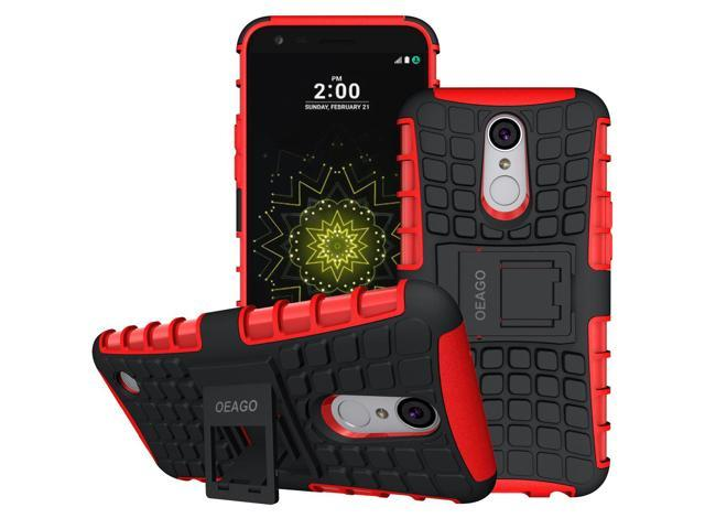 LG K20 Plus Case, LG K20 Case, LG K20 V K20V Phone Case, LG Harmony Case,  LG Grace LTE Phone Case, OEAGO [Shockproof] Tough Rugged Dual Layer