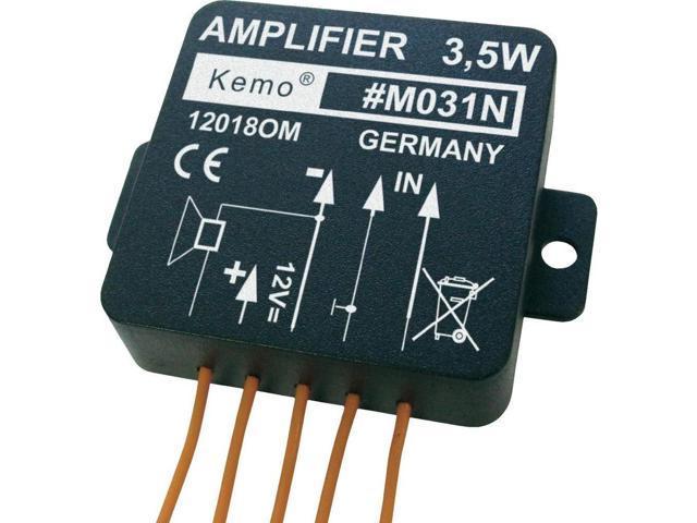 Kemo M031N 3.5 Watt Universal Mono Amplifier Module