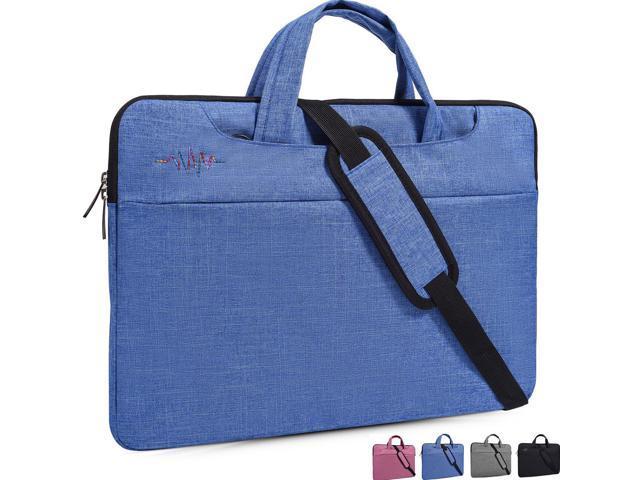774430b52d4b 15-15.6 Inch Laptop Sleeve Case,Laptop Shoulder Bag,with Hidden Handle and  Adjustable Shoulder Strap,Women/Men Simplicity Slim Briefcase Messenger Bag  ...