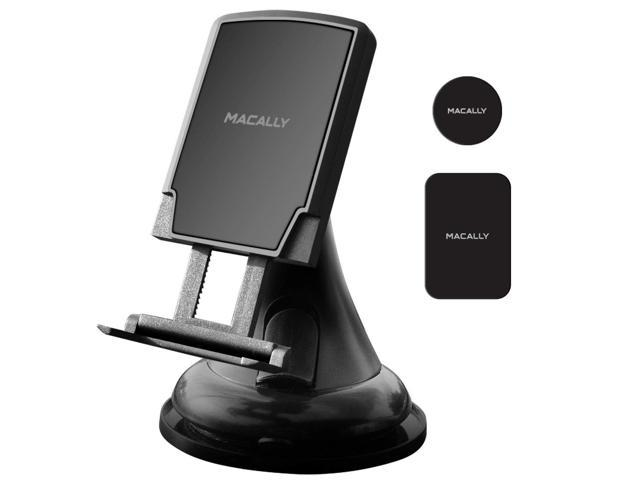 Adjustable Suction Cup Window Phone Mount Holder for iPhone XS XS Max XR X 8 8 Plus 7 7 MGRIP S7 Edge Note 5 Nexus 6 Pixel LG Macally Windshield Phone Mount 6s 6 SE Samsung Galaxy S9 S9 S8 S8