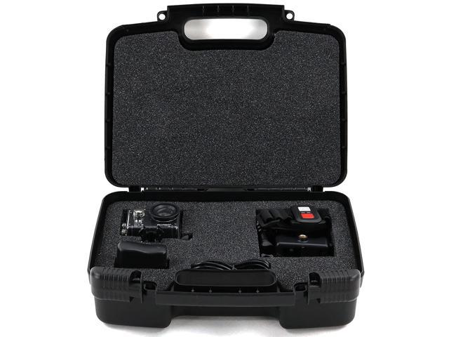 Life Made Better Storage Organizer - Compatible with Akaso EK7000 4K WIFI  Sports Action Camera - Durable Carrying Case - Black - Newegg com