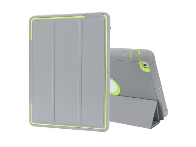 newest 71cf6 8b4e9 TKOOFN iPad 2/3/4 Case Drop Protection Rugged Protective Heavy Duty  Shockproof iPad Case with Auto Wake/Sleep Smart Cover With Stand for Apple  iPad ...