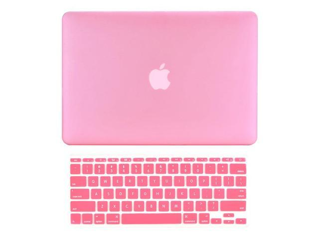68529fce4ffe TOP CASE - 2 in 1 Bundle Deal Rubberized Hard Case Cover and Matching Color  Keyboard Cover Compatible with Apple MacBook Air 11