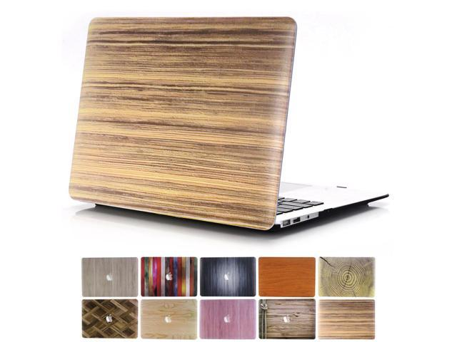 online retailer ae875 20635 2016 MacBook Pro 13 Case, PapyHall 2 in 1 MacBook Pro Protect Case  Distinctive Wood Printing Plastic Hard Shell Cover Case for MacBook Pro 13  inch ...