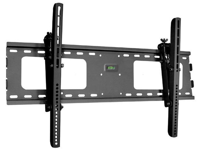 Ultra-Slim Black Adjustable Tilt//Tilting Wall Mount Bracket for JVC Emerald T EM37T 37 inch D-LED HDTV TV//Television Low Profile