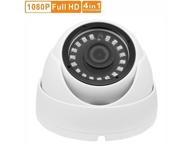 2MP 1080P AHD Analog CCTV Dome Security Camera Outdoor Night Vision Wide Angle