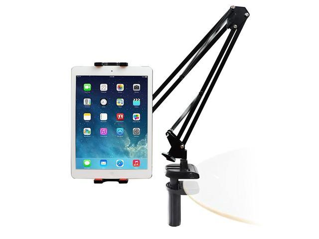 IIMII iPad Holder, Tablet Stand, 360-Degree Swivel, Adjustable Long Arm,  Bed, Desk, Kitchen, Office Holder Mount, Compatible with iPad, iPhone,  Kindle ...